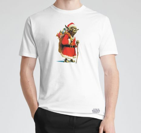 Yoda Santa Star Wars Xmas T-Shirt